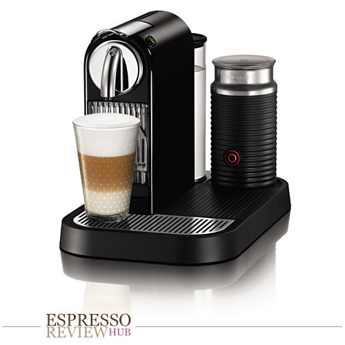 Nespresso D121-US4-BK-NE1 Citiz Espresso Maker with Aeroccino Milk Frother