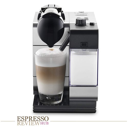 Nespresso Lattissima Plus Original Espresso Machine with Milk Frother by De'Longhi